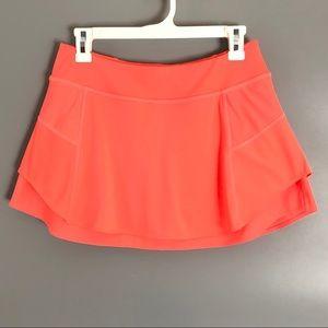 Athleta women's tennis skirt attached shorts.